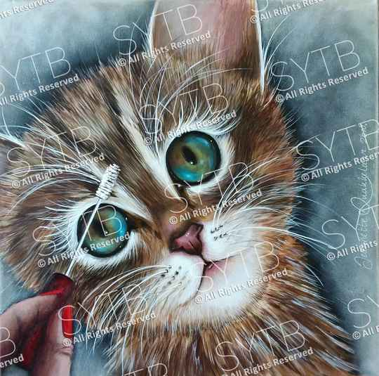 SYTB☆Pussy Beauty 2018 (Original Painting)