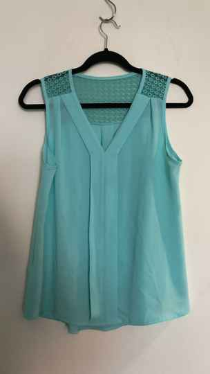 TURQOISE TOP SIZE S