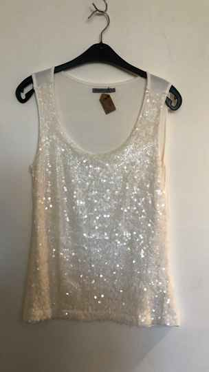 TOPJE PAILLETTES SOAKED SIZE S