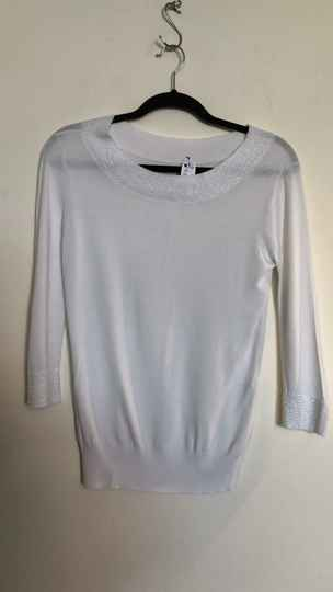 WITTE TRUI  WHO'S WHO SIZE S