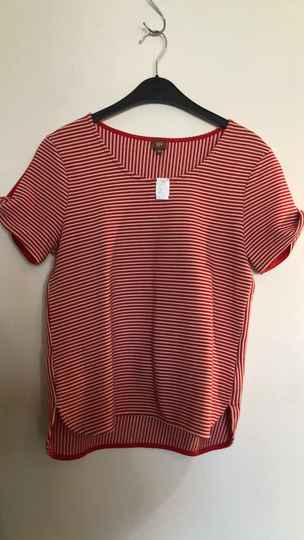 GESTREEPTE TSHIRT  WHO'S THAT GIRL SIZE M
