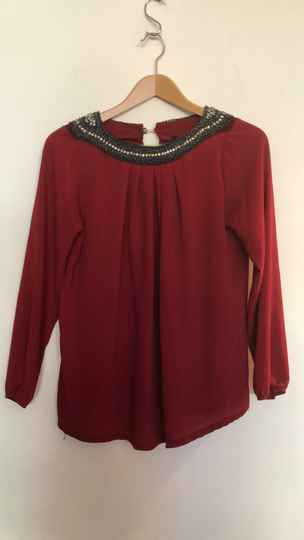 WIJNRODE BLOUSE  R LINEA  SIZE M