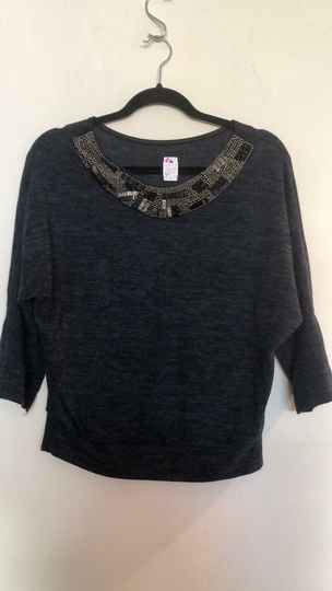 BLAUWE TRUI  MADE IN ITALY SIZE S