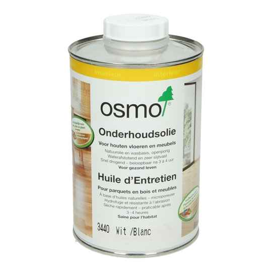 Osmo onderhoudsolie 3440 Wit transparant