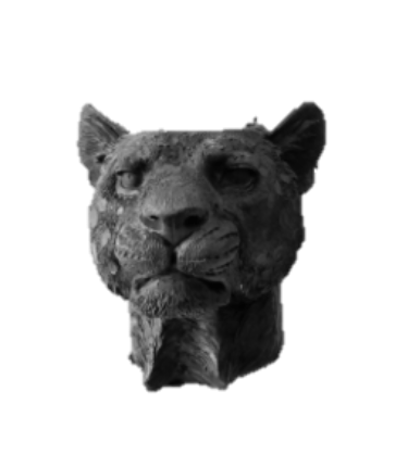 CANDLE HOLDER LION