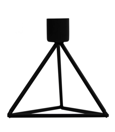 CANDLE HOLDER TRIANGLE