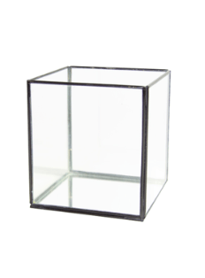 GLASS CUBE S