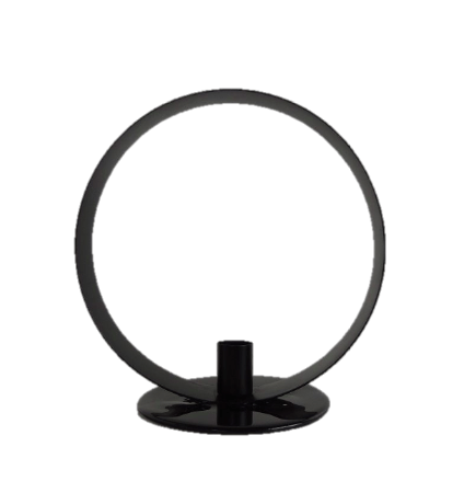 CANDLE HOLDER ROUND L