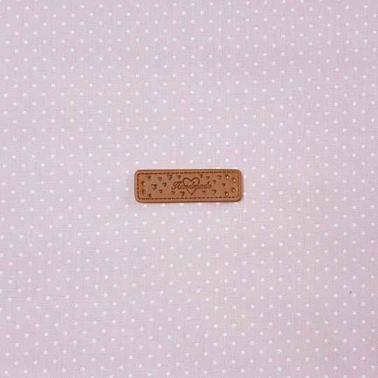 Declaration Label (PU Leather) Hand made 962