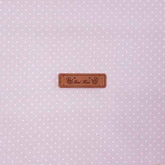 Declaration Label (PU Leather) Hand made 961