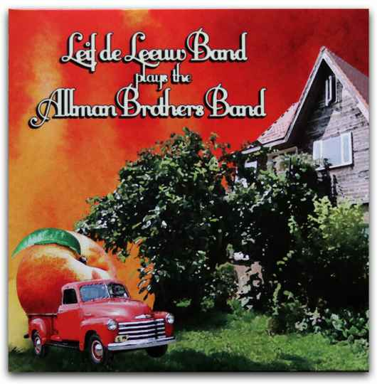 Leeuw, Leif de Band - plays the Allman Brothers Band