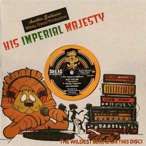Dread, Mikey -Production- His Imperial Majesty (Coloured)