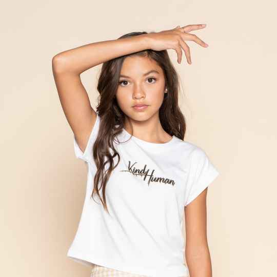 T-SHIRT SALLY PAPER WHITE
