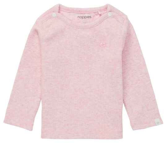 LONGSLEEVE NATAL LIGHT ROSE MELANGE