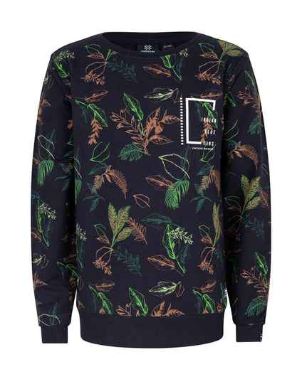 CREWNECK ALL OVER LEAVES