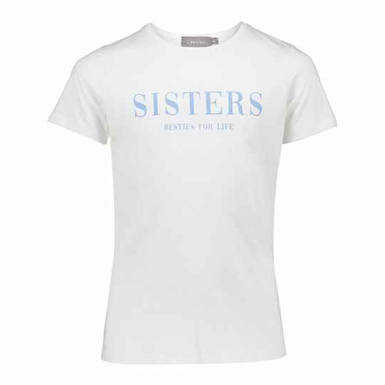 T-SHIRT SISTERS OFF WHITE