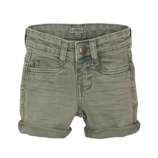 JEANS SHORT FADED GREEN