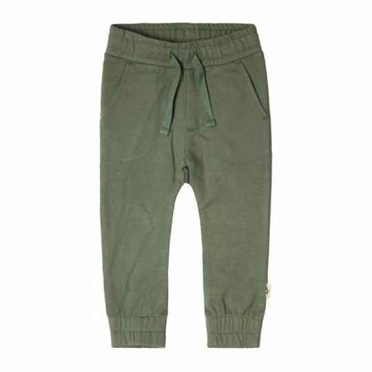 SOLID SWEAT PANTS OLD GREEN