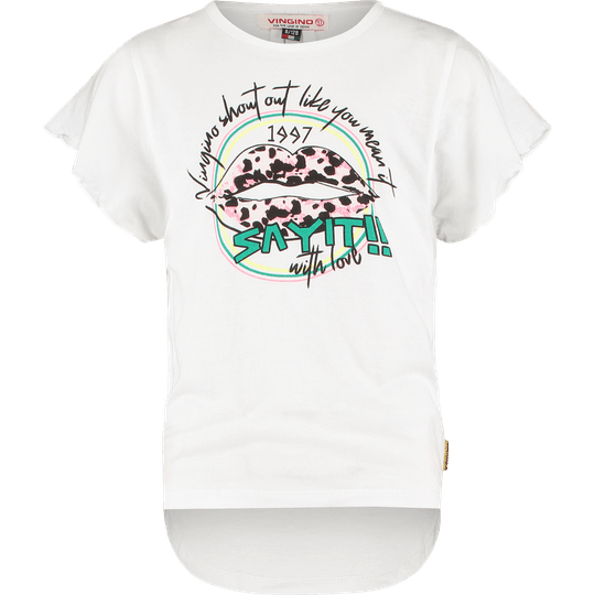 T-SHIRT IMANI REAL WHITE