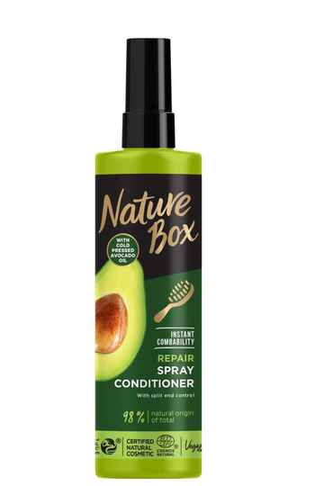 Nature Box Avocado leave-in spray