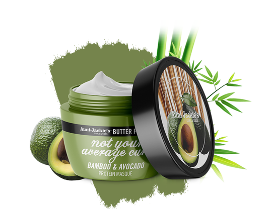 Aunt Jackie's Babmoo & Avocado Protein Mask