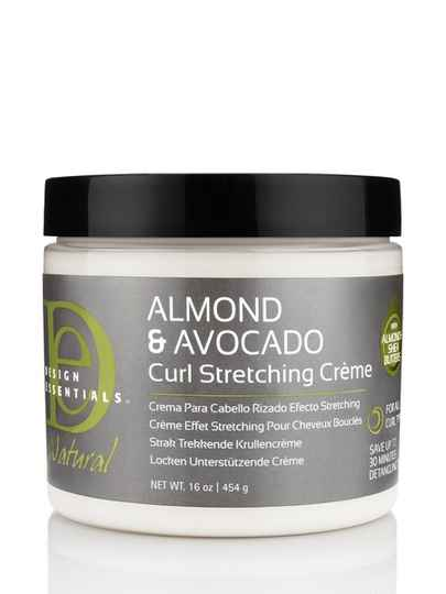 Design Essentials Almond & Avocado Curl Stretching Crème