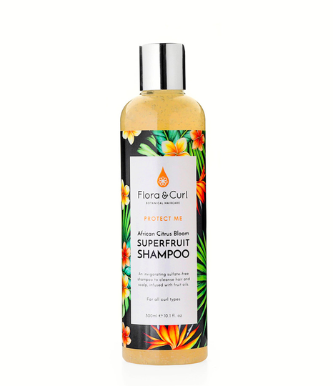 Flora & Curl African Citrus Bloom Superfruit Shampoo