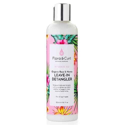 Flora & Curl Organische Rose & Honey Leave-in Detangler