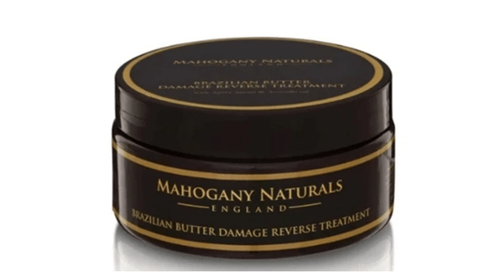Mahogany Naturals Brazilian Butter damage reverse mask