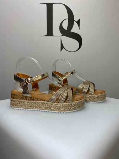 Lily sandaal gold DS046