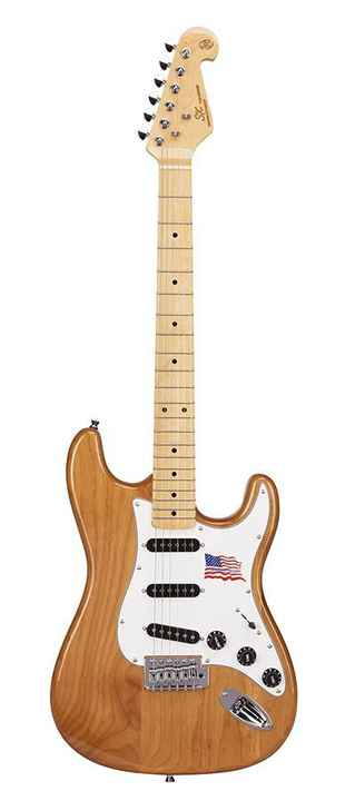 SX Guitars SST ALD Naturel Stratocaster Model