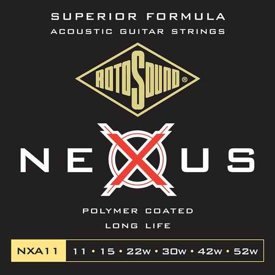 Rotosound NXA11 Snarenset Coated Phosphor Bronze 011-052
