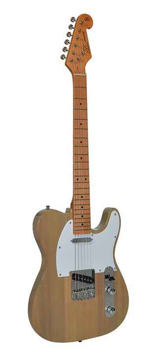 SX Guitars STL50BSB Butterscotch Blonde Telecaster Model