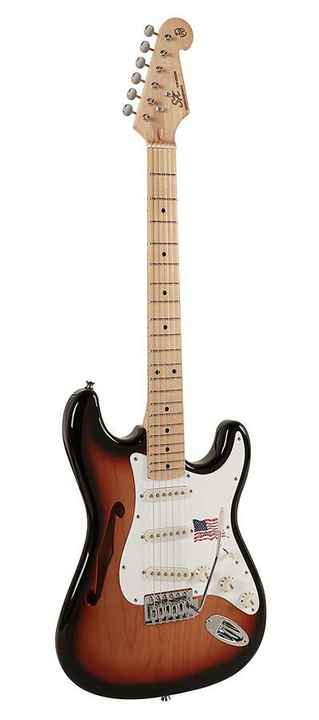 SX Guitars SST ALD HNA Sunburst Stratocaster Model