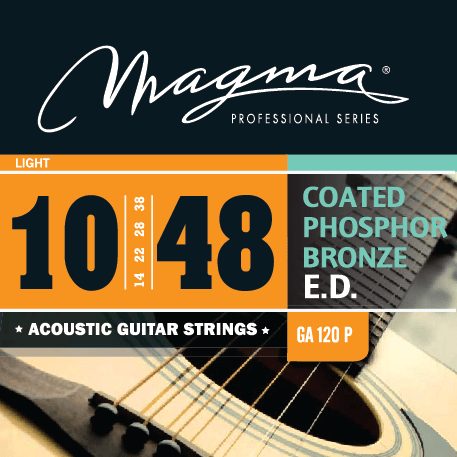 Magma GA110P Snarenset Coated Phosphor Bronze 010-048
