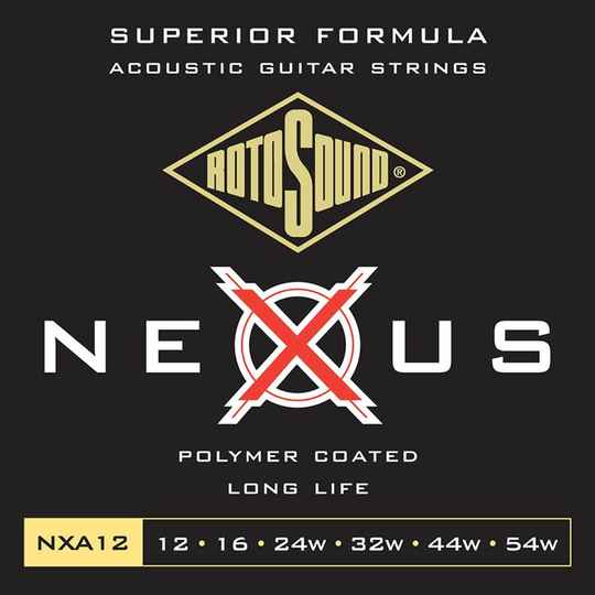 Rotosound NXA12 Snarenset Coated Phosphor Bronze 012-054