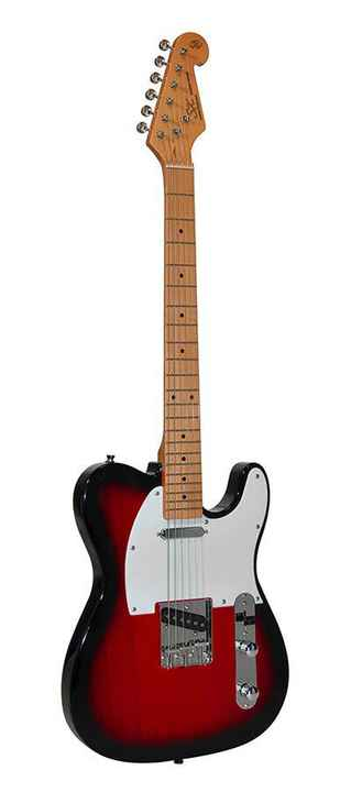 SX Guitars STL502TS 2 Tone Sunburst Telecaster Model
