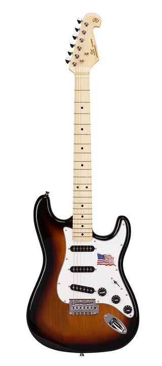 SX Guitars SST ALD Sunburst Stratocaster Model