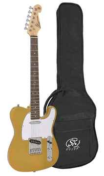 SX Guitars ED2BSB Butterscotch Blonde Telecaster Model