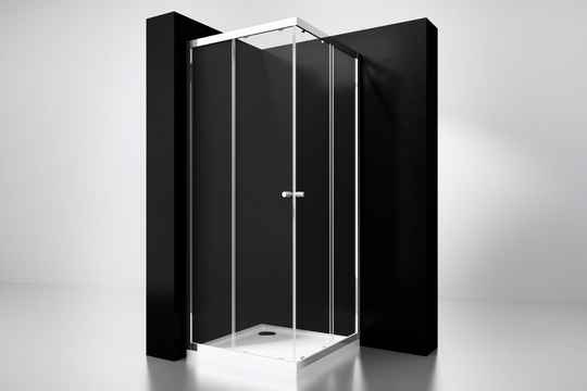 "Best-Design ""Project"" douche hoekinstap 100x100x190cm glas 5mm"