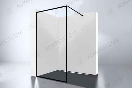 "Best-Design ""For-You 1200"" inloopdouche Walk-In 1200x2000x8mm"