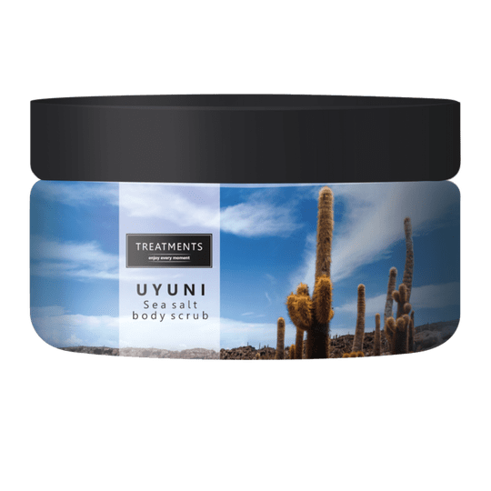 Sea salt body scrub Uyuni 450 gram