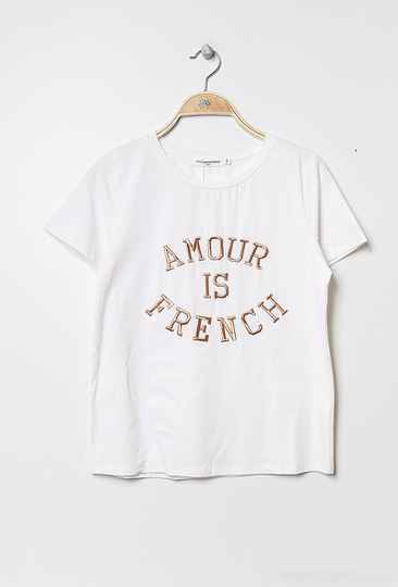 "T-Shirt ""amour is french"""