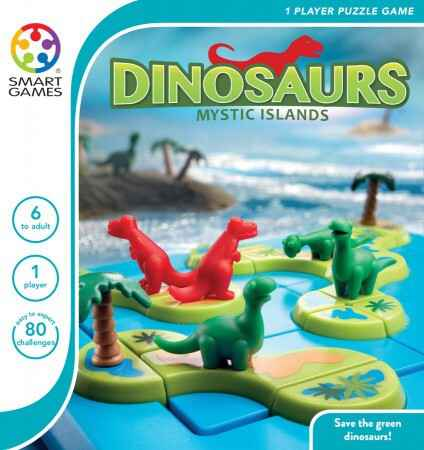 Smart Games Dinosaurs Mysterious Islands