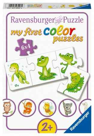 Ravensburger My first Color puzzles 6*4