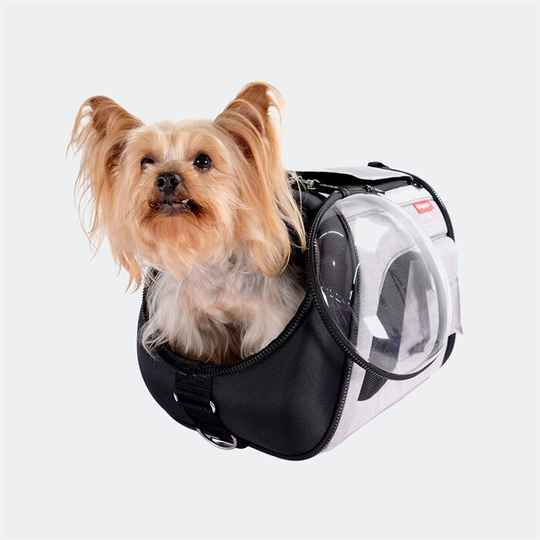 Airline pet carrier transparant all-in-one