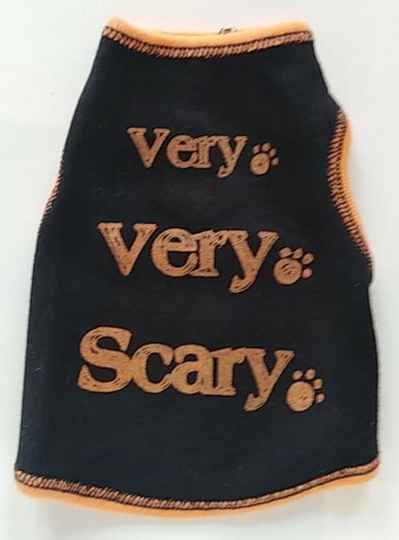 Very Scary Ribbed Tshirt