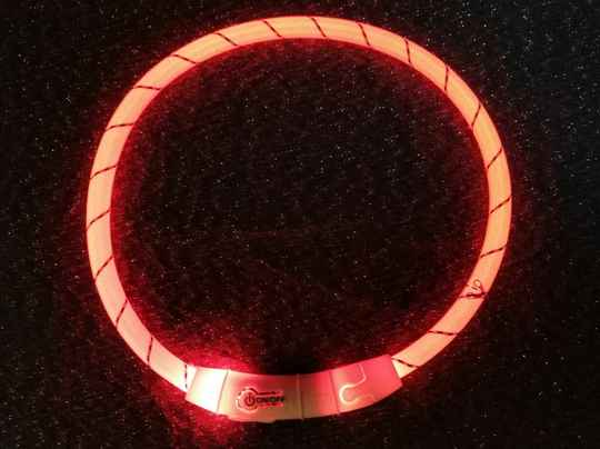 LED TUBE  oranje of roze
