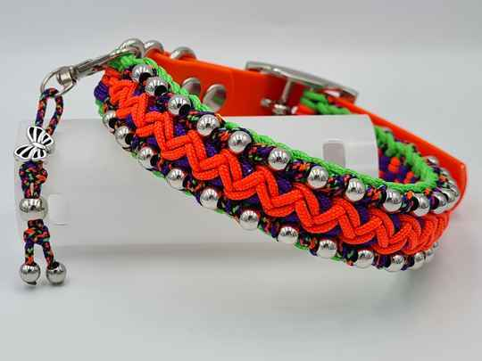 Just2Go Little Indian hondenhalsband 30-35cm, extra smal