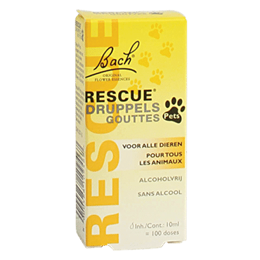 Bach Rescue Pets Druppels (10ml)